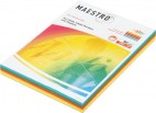 Maestro Color, 80гр, формат А4, 250листов, Австрия, Mix01(№24,25,28,30,34).