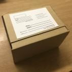 Короб гофрокартонный почтовый №6 самосборный тип. А